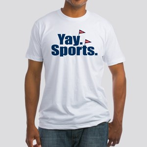 Yay Sports Meh Fitted T-Shirt