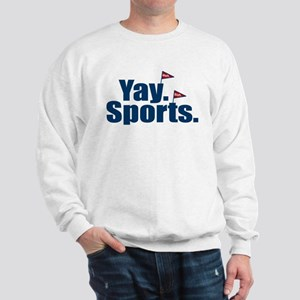 Yay Sports Meh Sweatshirt