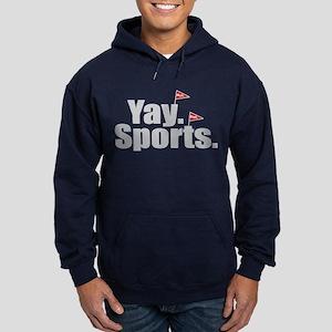 Yay Sports Meh Hoodie (dark)