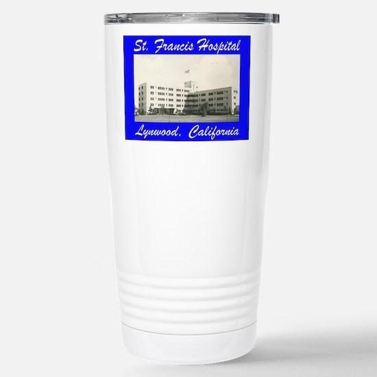 Saint Francis Hospital Stainless Steel Travel Mug