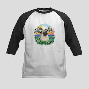 BrightLife-Pug #25 Kids Baseball Jersey
