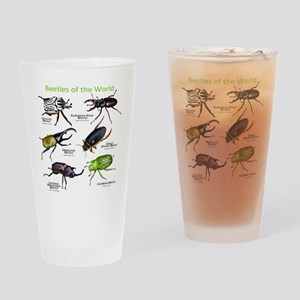 Beetles of the World Drinking Glass