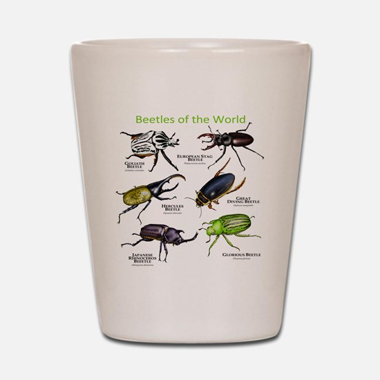 Beetles of the World Shot Glass
