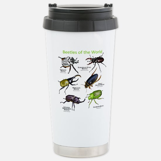Beetles of the World Stainless Steel Travel Mug