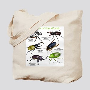 Beetles of the World Tote Bag