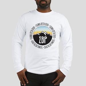 Sigma Beta Rho Mountain Sunset Long Sleeve T-Shirt