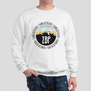 Sigma Beta Rho Mountain Sunset Sweatshirt