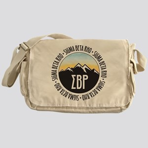 Sigma Beta Rho Mountain Sunset Messenger Bag