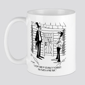 Lincoln's Fire Trap Mug