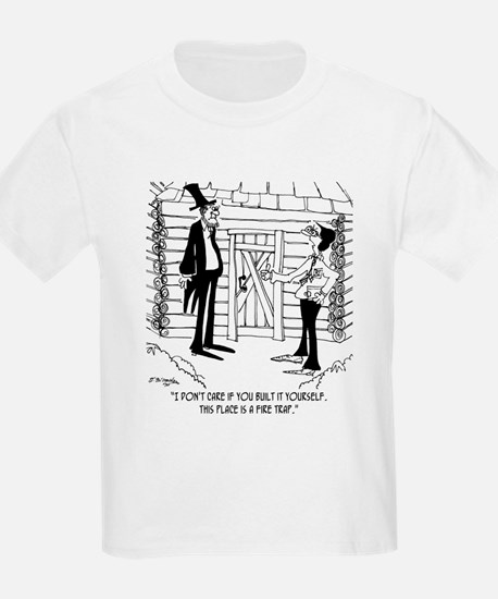 Lincoln's Fire Trap T-Shirt