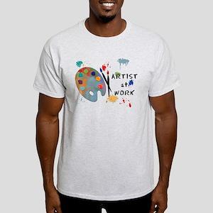 Artist At Work Light T-Shirt