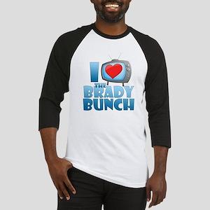 I Heart The Brady Bunch Baseball Jersey