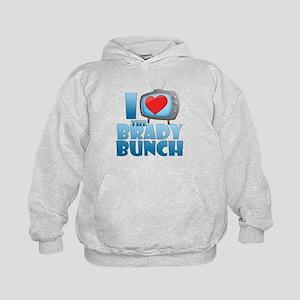 I Heart The Brady Bunch Kid's Hoodie