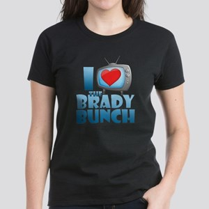 I Heart The Brady Bunch Women's Dark T-Shirt