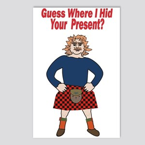 Sexy Scotsman / Postcards (Package of 8)