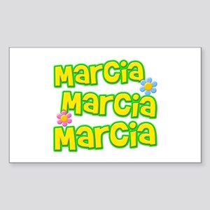 Marcia, Marcia, Marcia Rectangle Sticker