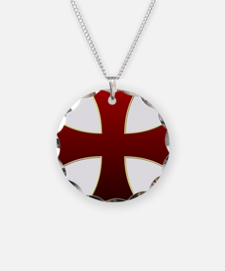 Knights templar cross necklaces knights templar cross dog tags templar cross necklace aloadofball Image collections