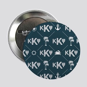 "KKP Blue Pattern 2.25"" Button"
