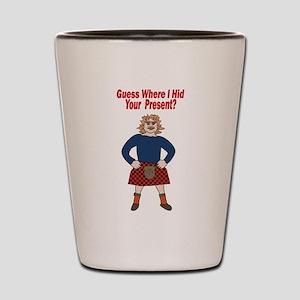 Sexy Scotsman / Shot Glass