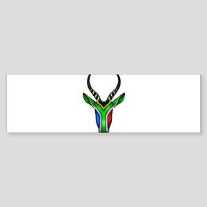 Springbok Flag Sticker (Bumper)