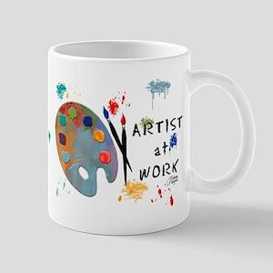 Artist At Work Mug