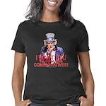 3-Uncle Sam Vote Conservat Women's Classic T-Shirt