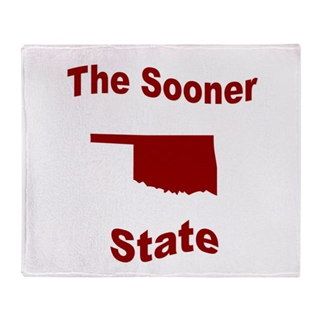 Oklahoma: The Sooner State Throw Blanket