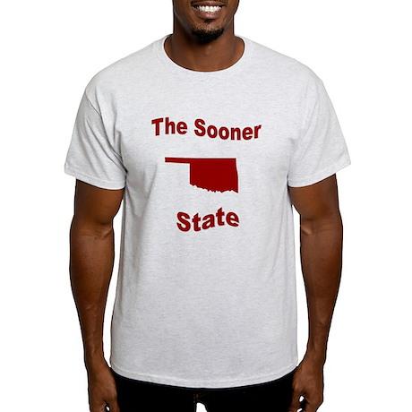 Oklahoma: The Sooner State Light T-Shirt