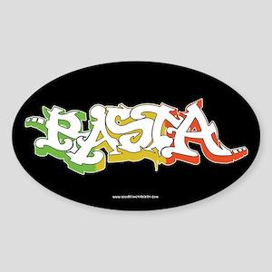Rasta Sticker 4 Sticker (Oval)