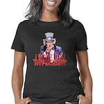 3-Uncle Sam Expose Hypocri Women's Classic T-Shirt