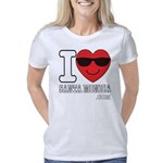 I LOVE SANTA MONICA Women's Classic T-Shirt