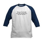 There are 10 types Kids Baseball Jersey