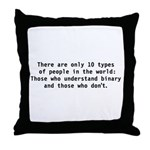 There are 10 types Throw Pillow