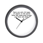 There are 10 types Wall Clock