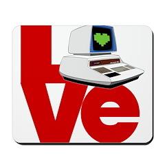 Computer Love Mousepad