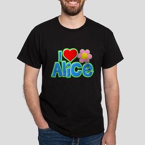 I Heart Alice Dark T-Shirt