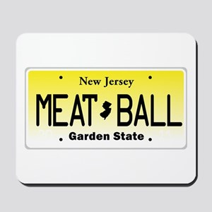 NU JOISEY, New Jersey, License Plate Mousepad