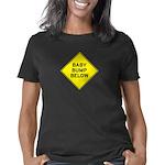 Baby Bump Below Women's Classic T-Shirt