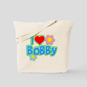 I Heart Bobby Tote Bag