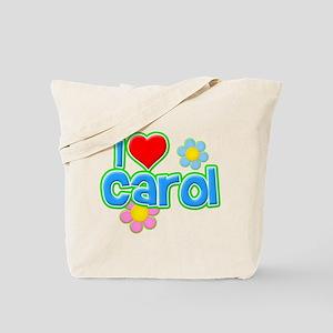 I Heart Carol Tote Bag