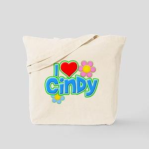 I Heart Cindy Tote Bag