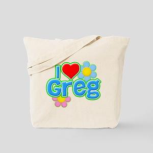 I Heart Greg Tote Bag