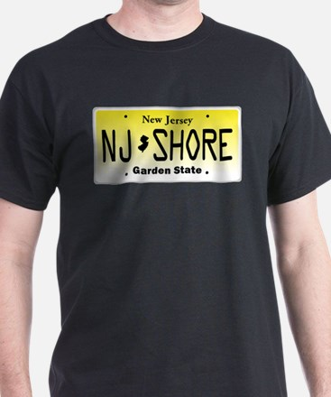 New Jersey, License Plate, Jersey Shore T-Shirt