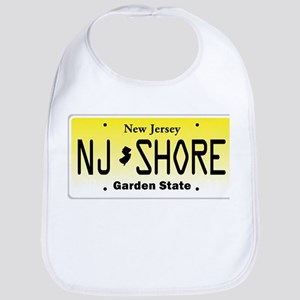 New Jersey, License Plate, Jersey Shore Bib