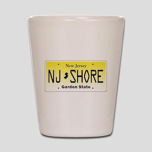 New Jersey, License Plate, Jersey Shore Shot Glass