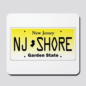 New Jersey, License Plate, Jersey Shore Mousepad
