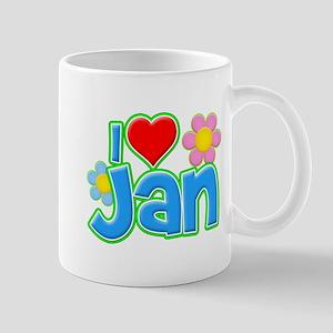 I Heart Jan Mug