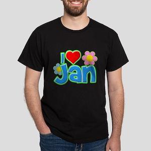 I Heart Jan Dark T-Shirt