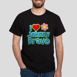 I Heart Johnny Bravo Dark T-Shirt