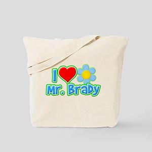 I Heart Mr. Brady Tote Bag